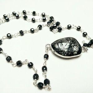 Jewelry - Rutilated quartz necklace